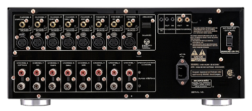 140w X 8ch 8 Ohms Power Amplifier View Larger