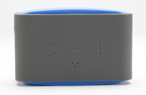 MB Quart QUBTwo in blue showing Shock Resistant Rubber Housing