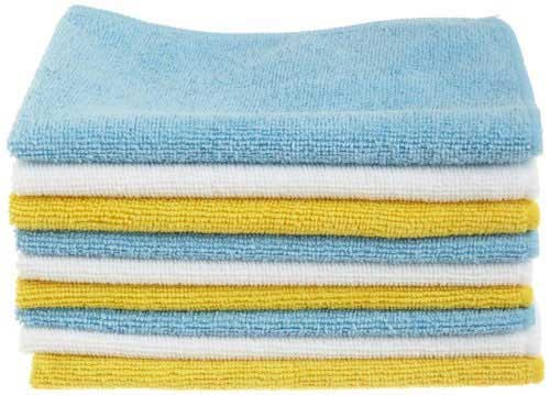 AmazonBasics Microfiber Cleaning Cloths