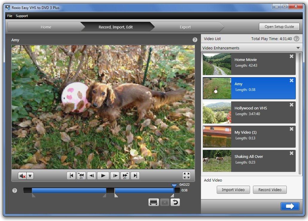 Amazon Com Roxio Easy Vhs To Dvd 3 Plus Video Converter