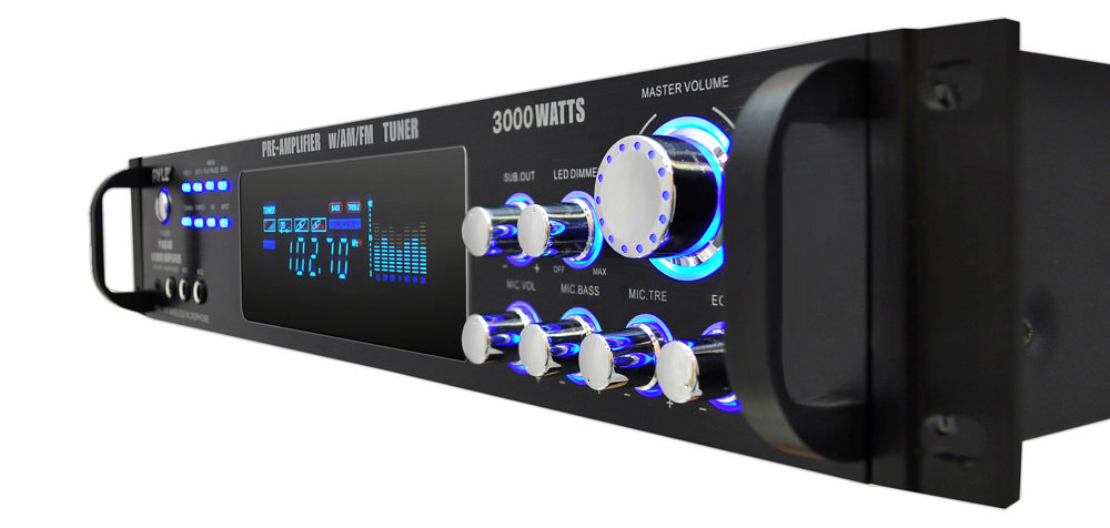 Amazon.com: Pyle P3001AT 3000W Hybrid Pre Amplifier with