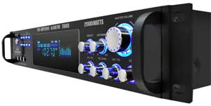 3,000 Watt Hybrid Pre-Amplifier with AM/FM Tuner
