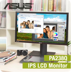 ASUS PA238QR LCD MONITORS DRIVER FOR WINDOWS