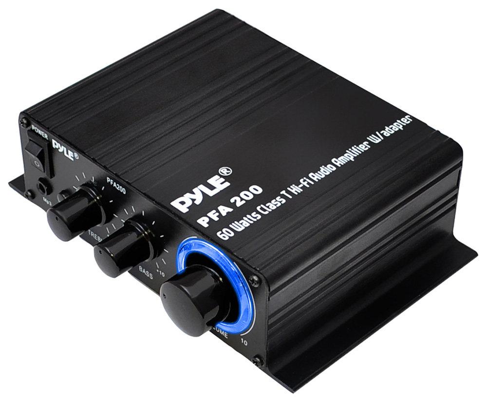 Amazon.com: Pyle Home Mini Audio Amplifier