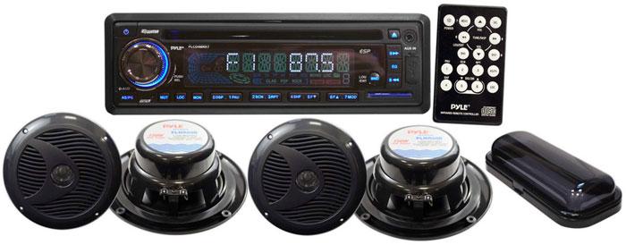 Amazon Com  Pyle Plcd4mrkt Stereo Radio Headunit Receiver