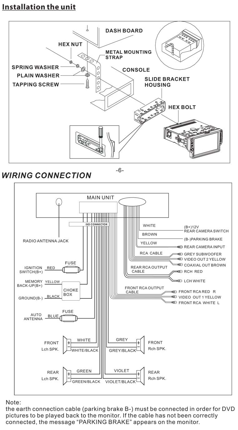 Boss Audio Wiring Diagram - Schema Wiring Diagram