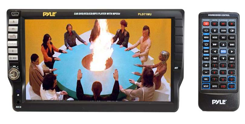 PLD71MU UnitLarge amazon com pyle pld71mu 7 inch tft touchscreen dvd vcd cd mp3 cd pyle pld70bt wire harness at n-0.co