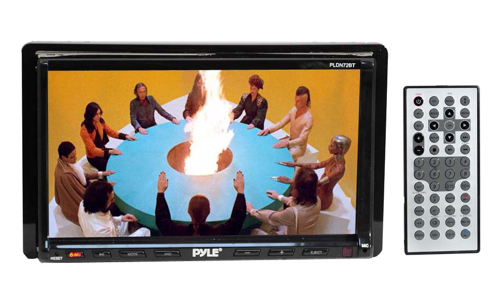 amazon com pyle pldn72bt 7 inch double din tft touch screen dvd vcd rh amazon com Pyle Car Audio Pyle Marine Audio