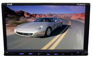 The Pyle PLDN73I 7'' In-Dash Motorized Touchscreen Multifunction Headunit
