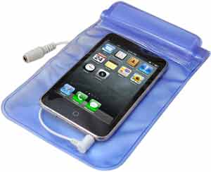 Waterproof Poly Bag Keeps Your Devices Dry