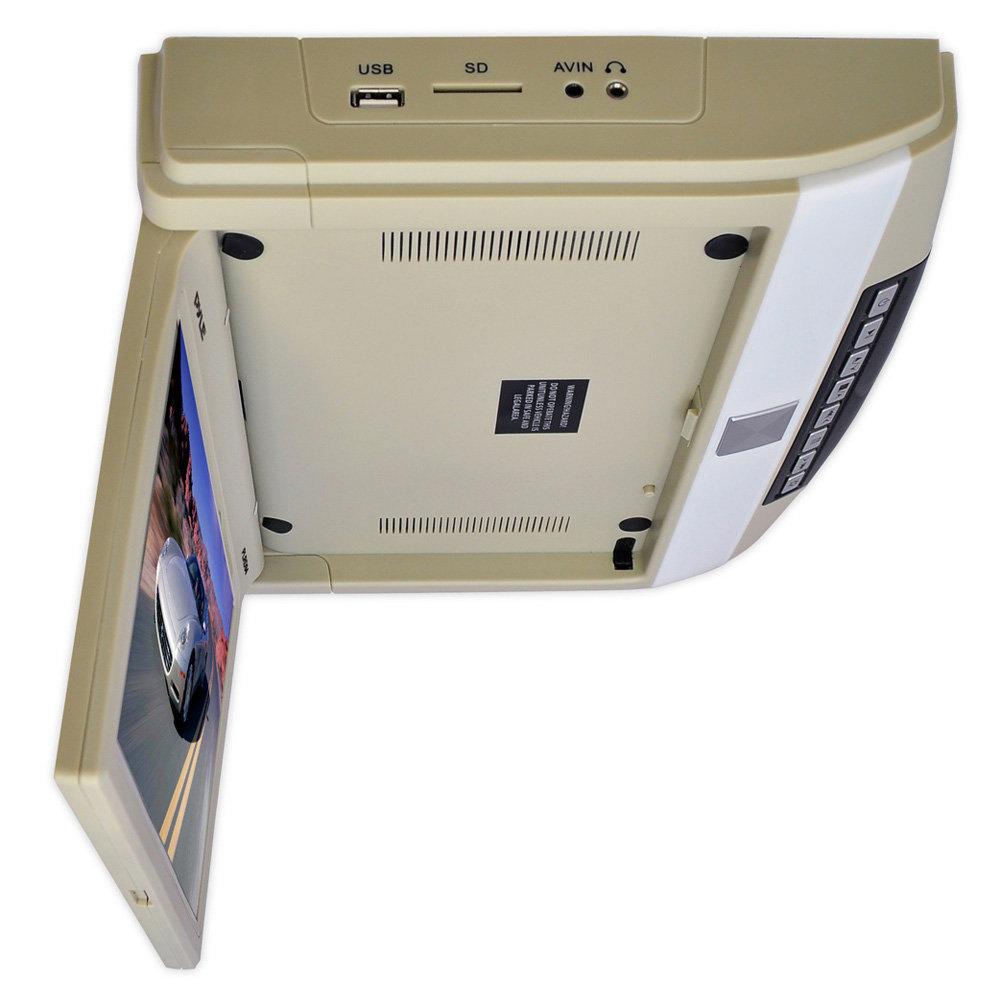 pyle plrd104 10 4 inch flip roof mount monitor. Black Bedroom Furniture Sets. Home Design Ideas