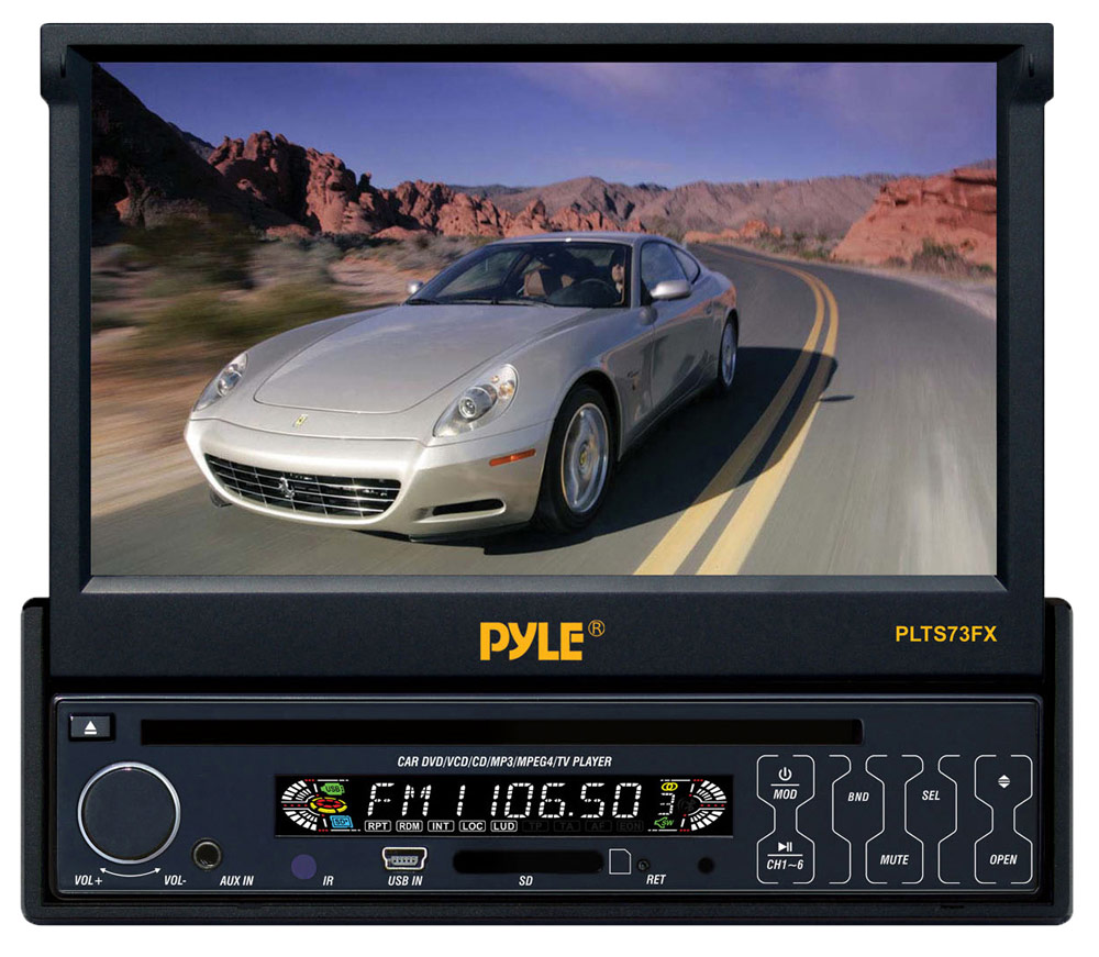 Pyle PLTS73FX 7-inch In-Dash Motorized Touchscreen Multifunction Headunit