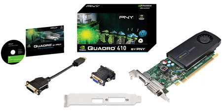 Amazon.com: PNY NVIDIA VCQ410-PB Quadro 410 512MB Low