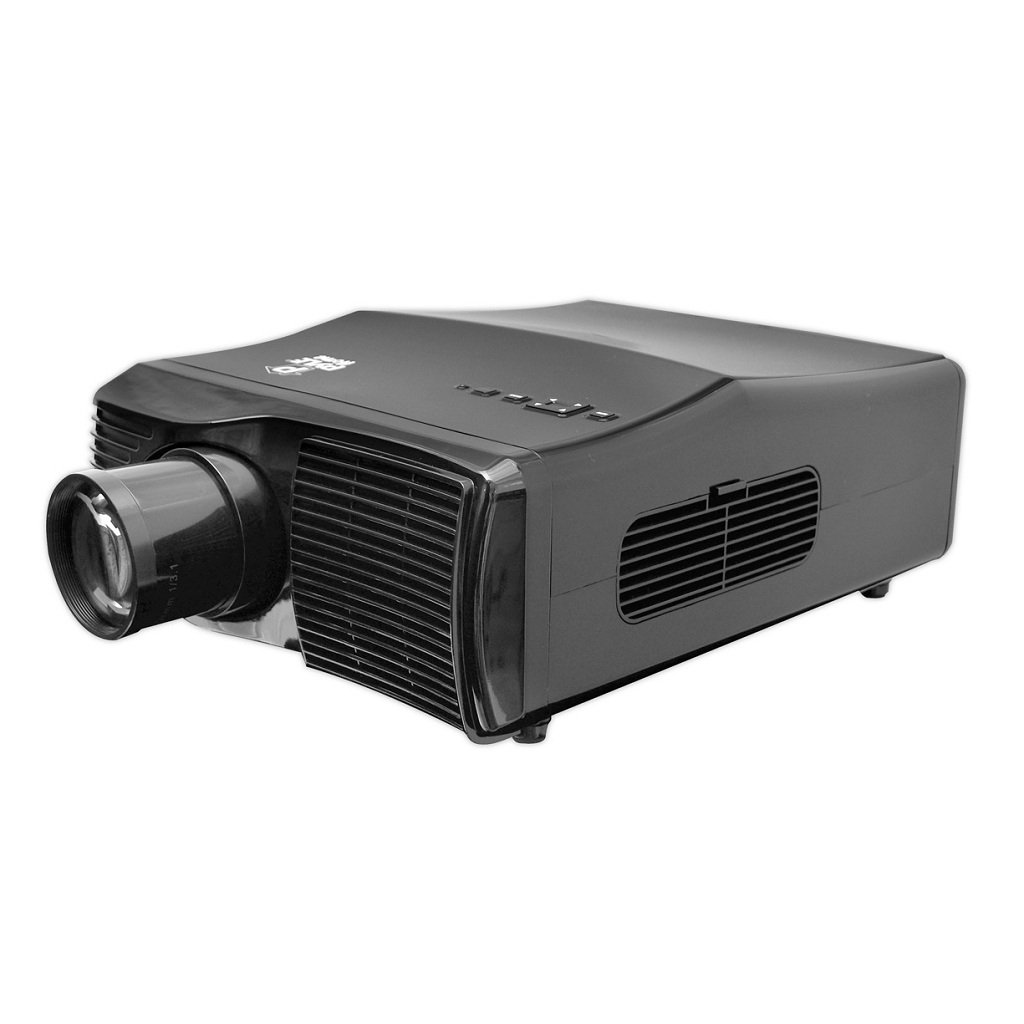 Pyle prjle44 widescreen projector 1080p for Hd projector