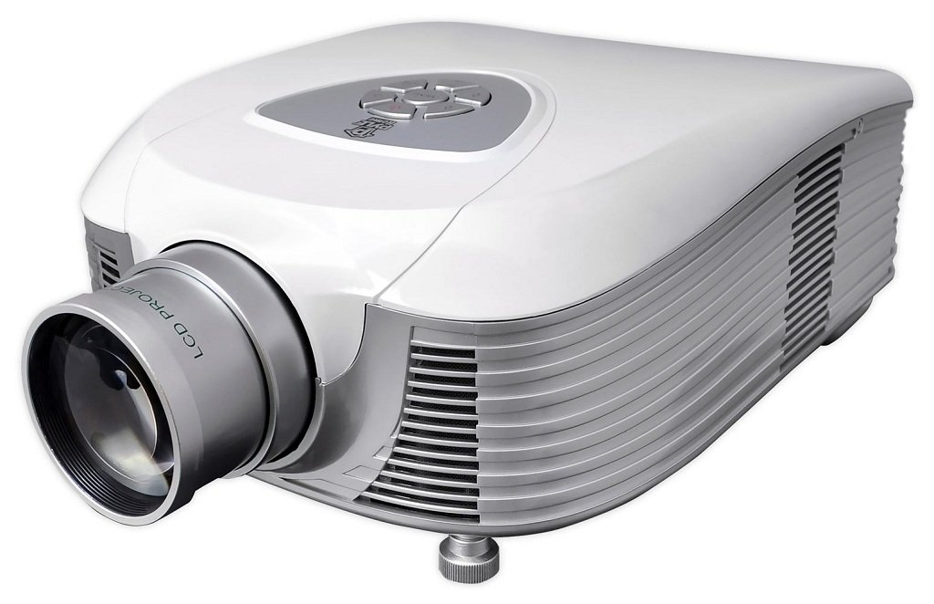 Pyle full hd 1080p video cinema home theater for Hd projector amazon