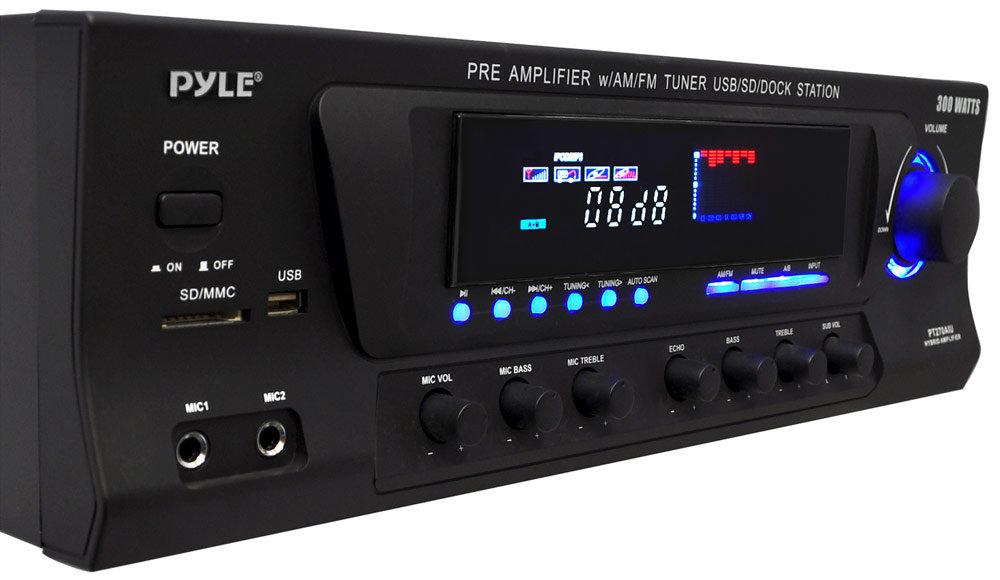 Amazon.com: 300W Digital Stereo Receiver System - AM/FM