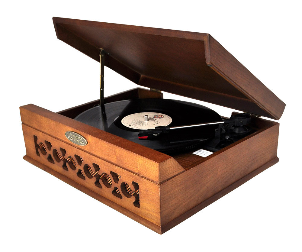 Pyle home pvntt6umt vintage style phonograph for Car turntable plans