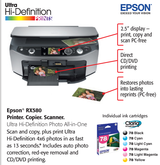 EPSON RX850 DRIVERS FOR WINDOWS