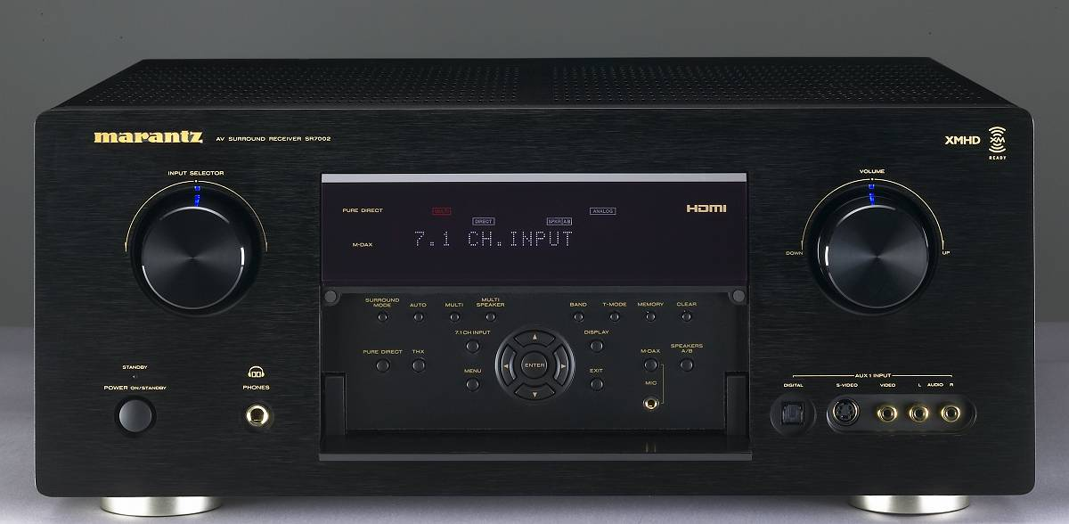 amazon com marantz sr7002 surround receiver discontinued by rh amazon com Marantz Remote RC VP 12 Marantz AV9000