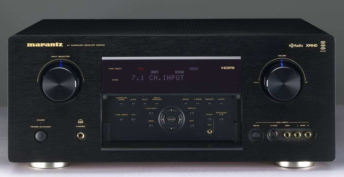 Amazon.com: Marantz SR8002 Surround Receiver (Discontinued