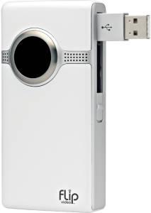 Amazon.com : Flip UltraHD Video Camera - White, 8 GB, 2 Hours (3rd ...