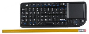 VisionTek CANDYBOARD Wireless Mini Keyboard with Touchpad