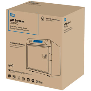 WD Sentinel box