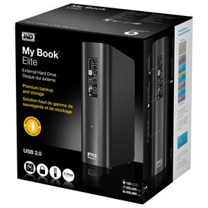 Amazon Com Wd My Book Elite 1 Tb Usb 2 0 Desktop External