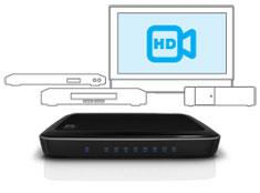 WD My Net Switch - High-speed;