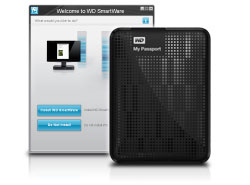 WD My Passport - Automatic Backup