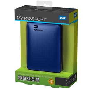 WD My Passport Essential Box
