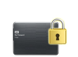 WD My Passport Edge - Password protection