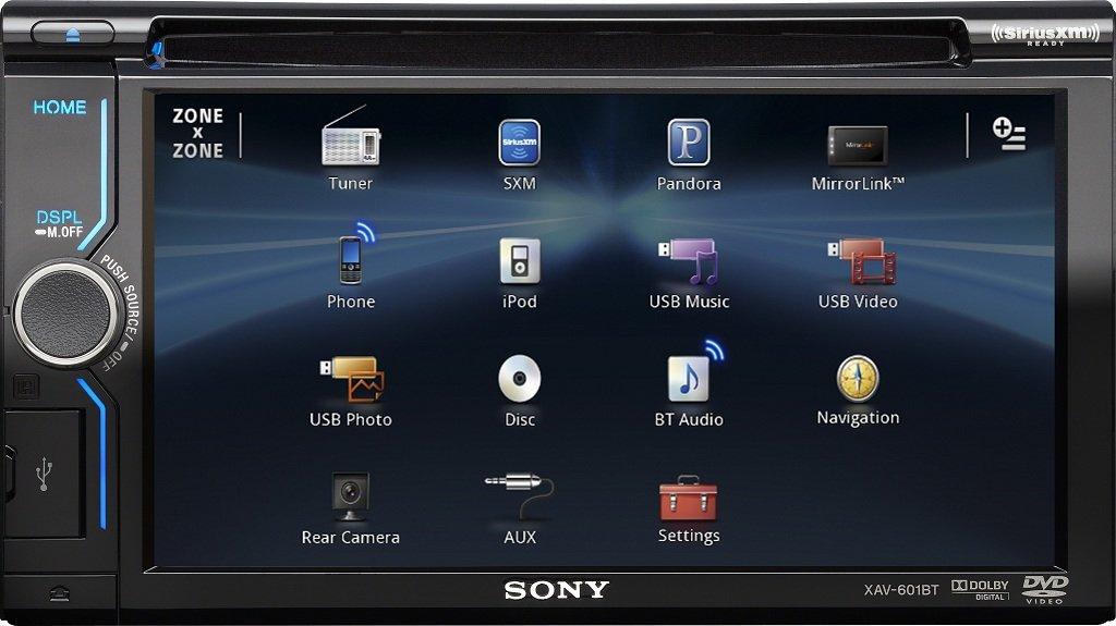 Sony Car Dvd Player Wiring Diagram : Amazon sony xav bt inch bluetooth av receiver