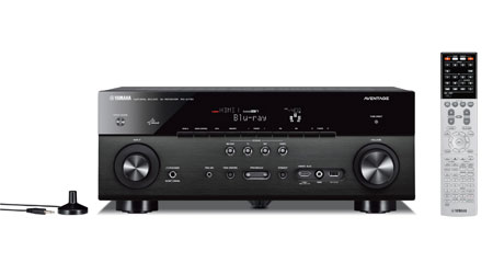 Yamaha Rx A  Channel Network Aventage Home Theater Receiver