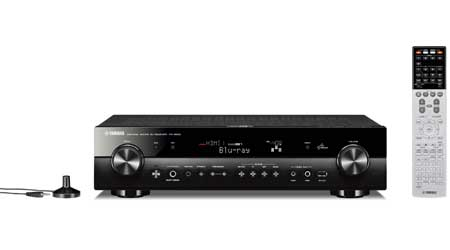 Amazoncom Yamaha RXS Home Theater Receiver Home Audio  Theater - Small home theater receiver