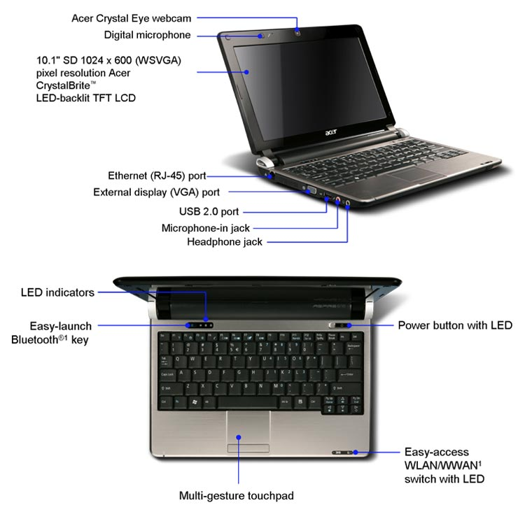 Acer Desktop Diagram - 365 Diagrams Online on
