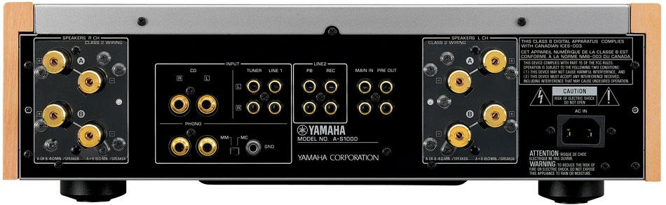 yamaha a s1000bl natural sound integrated. Black Bedroom Furniture Sets. Home Design Ideas