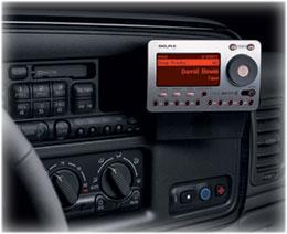 xm radio hook up receiver