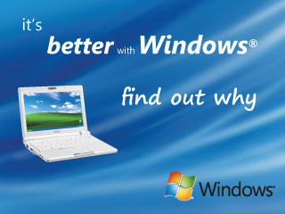 It's Better with Windows