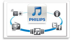 Philips Fidelio SoundCurve AirPlay Speaker DS8800W/37 Product Shot