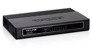 TP-LINK TL-SG1008D 8-Port Unmanaged Gigabit Desktop Switch Product Shot