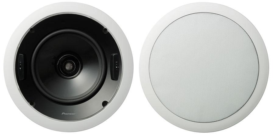 Amazon.com: Pioneer S-IC851-LR CST Series 8-Inch Circular ...