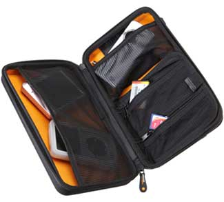 Universal Travel Case - Inside Pockets with Zipper
