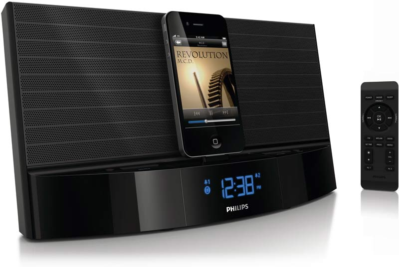philips aj7040d 37 ipod iphone speaker dock. Black Bedroom Furniture Sets. Home Design Ideas