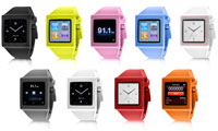 HEX Watch Band for iPod Nano (Gen 6) feature