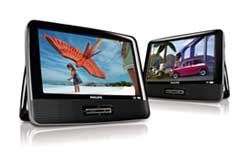 9-inch Portable LCD Dual DVD player, PD9016/37 Product Shot