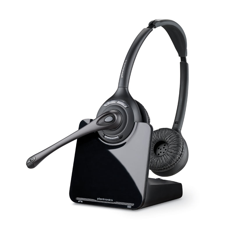 amazon com plantronics cs520 binaural wireless headset system cell rh amazon com plantronics headset manual cs50 plantronics headset manual c053