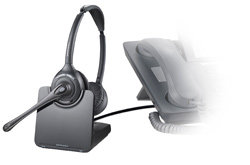Plantronics CS520 Binaural Wireless Headset Product Shot