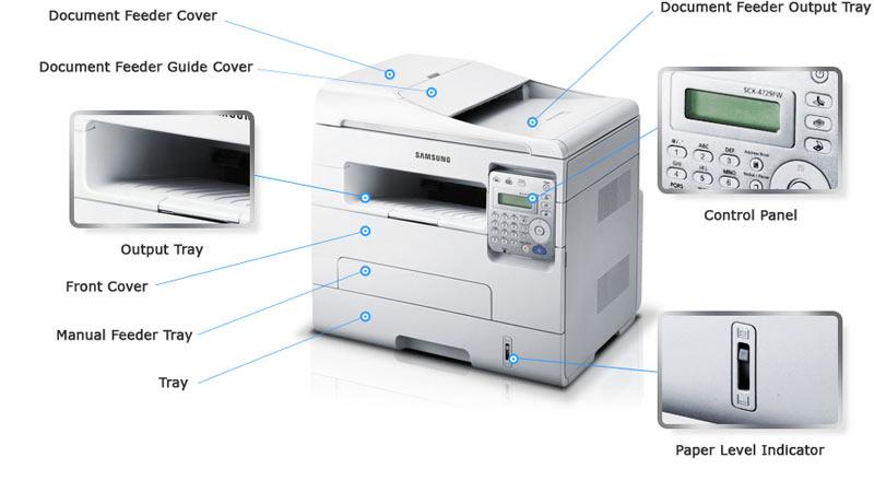 Samsung SCX-4729FW Laser MFP Print Treiber Windows XP