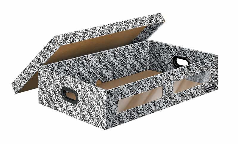 Bankers Box 4663801 Underbed Storage Box, Small, 2-Pack